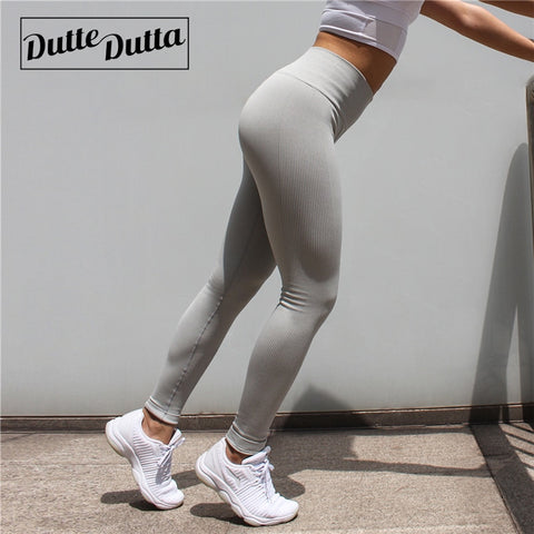 High Waist Sportswear Woman Gym Yoga Pants Sport Leggings Seamless Leggins For Women Fitness Sports Female Tummy Control Tights