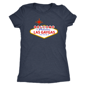 Las Gaygas Womens Triblend Tee
