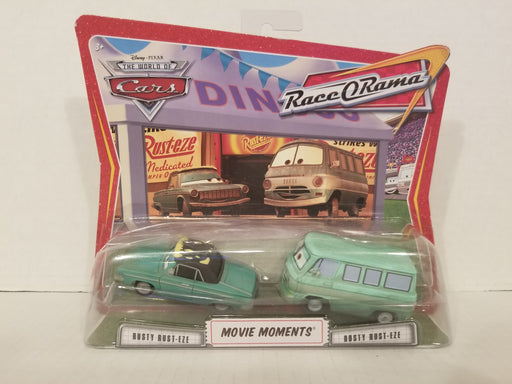 Disney Cars RaceORama Rusty Rust-eze and Dusty Rust-eze