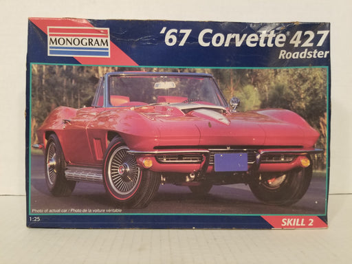 '67 Corvette 427 Roadster 1:25 Model Kit