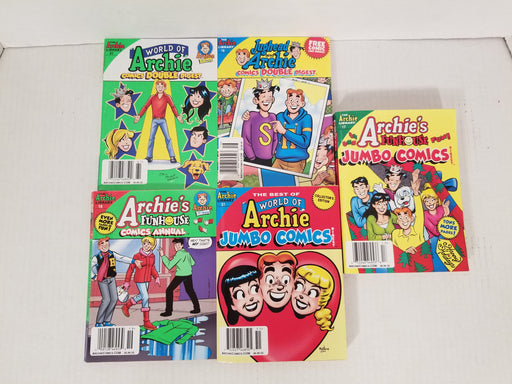 5 Lot of Archie Books #1
