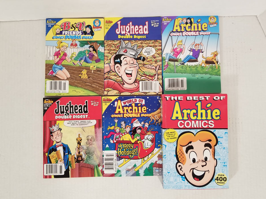 Lot of 6 Archie Books #6