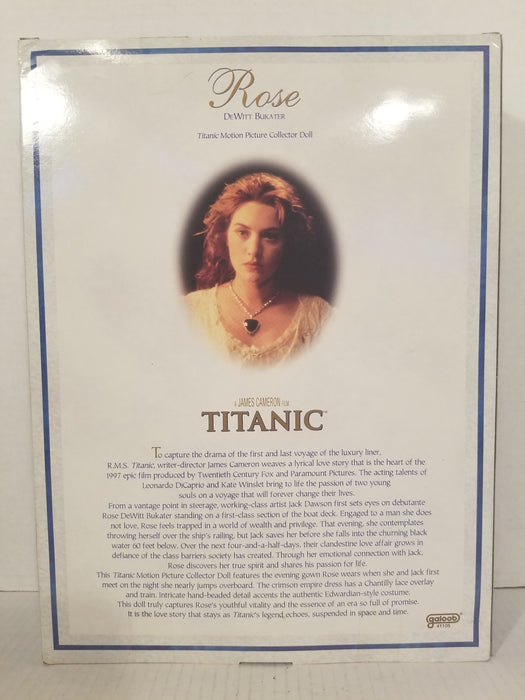 1998 Titanic Rose Barbie