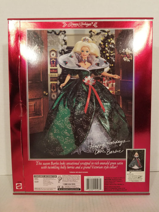 1995 Barbie Happy Holidays Special Edition