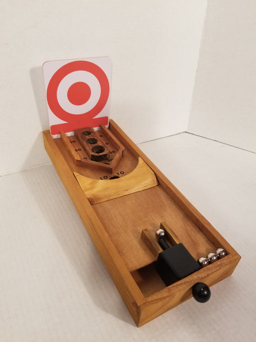 Desktop Wooden Skee Ball