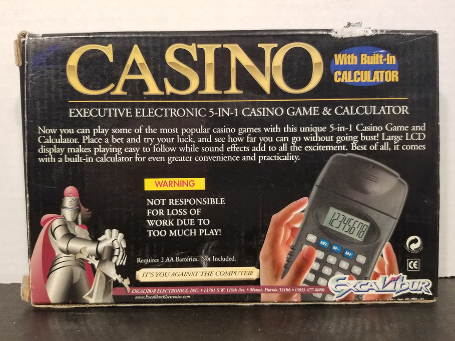 Excalibur Handheld Casino