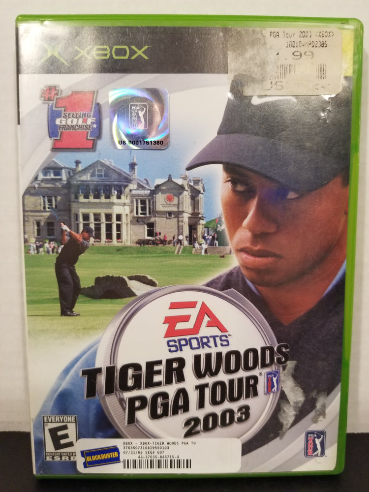 Tiger Woods PGA Tour 2003 for Xbox