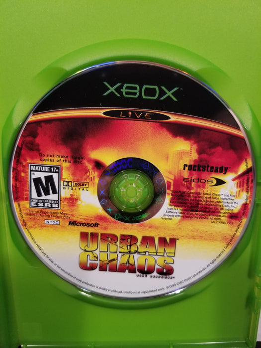 Urban Chaos for Xbox