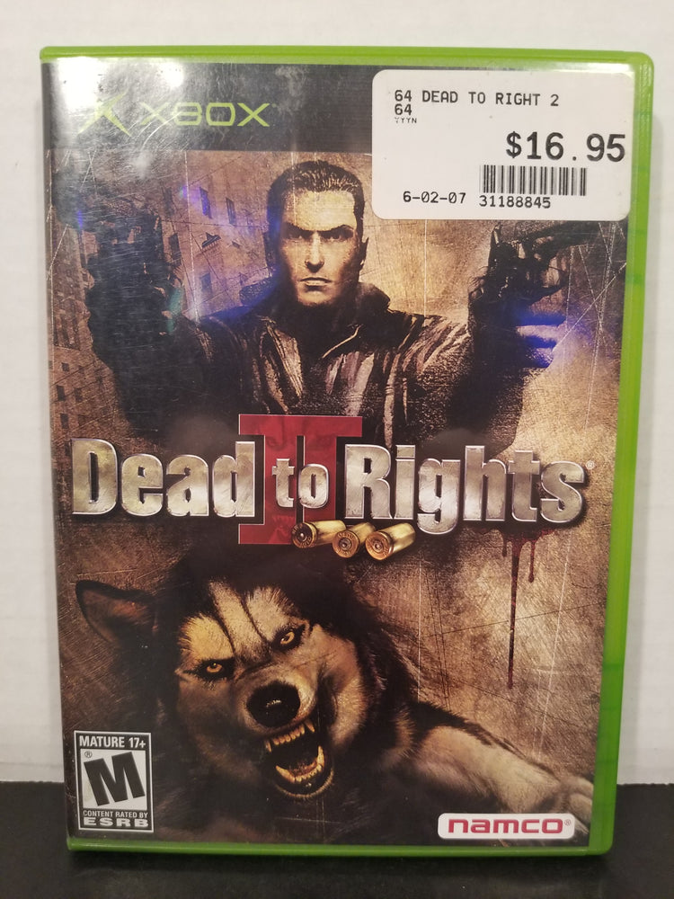 Dead to Rights II for Xbox