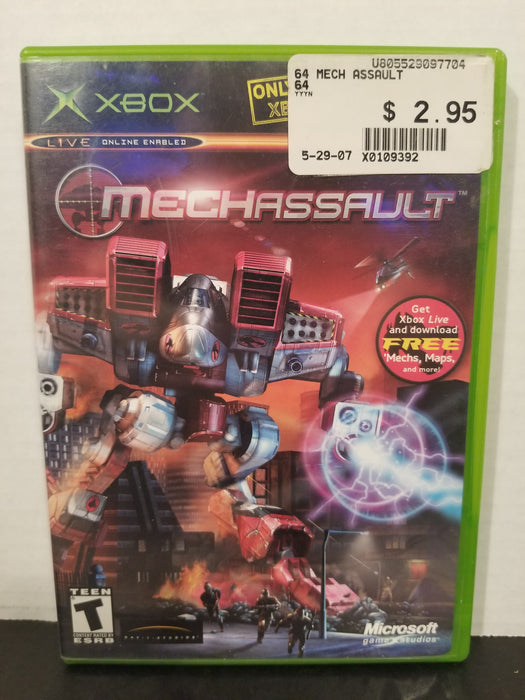 MechAssault for Xbox
