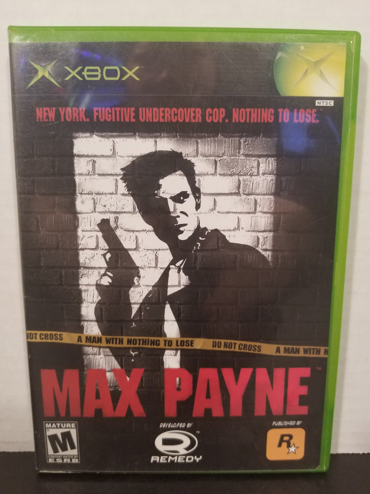 Max Payne for Xbox