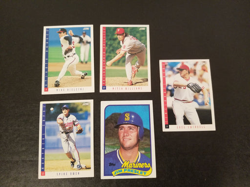 Lot of 5 Baseball Cards