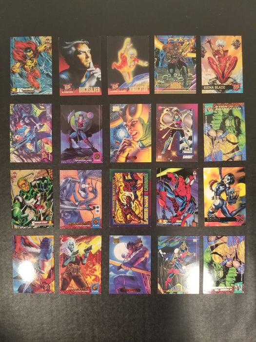 Lot of 61 Assorted Marvel Trading Cards