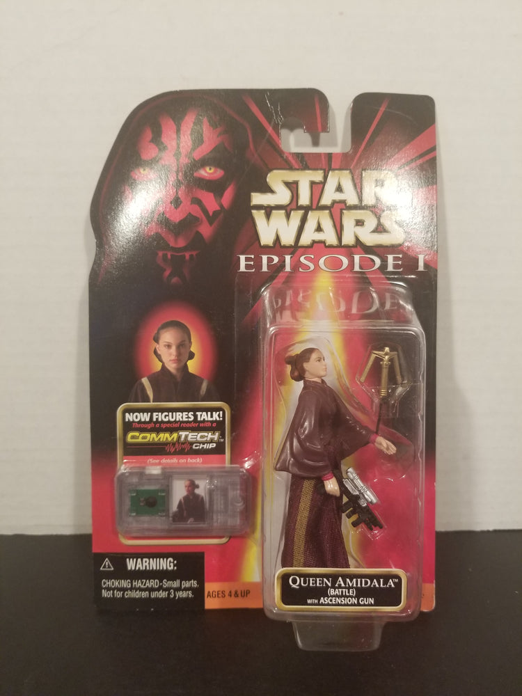 Star Wars Queen Amidala with Ascension Gun Action Figure