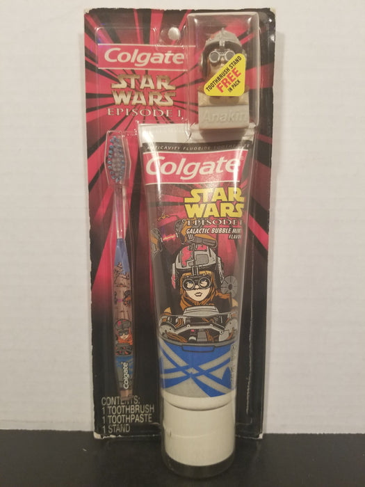 Star Wars Colgate Toothbrush/Paste with Anakin Stand