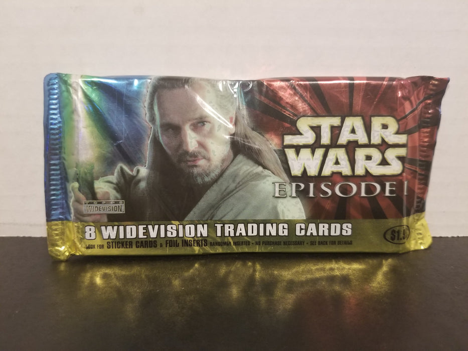 Lot of 7 Star Wars Ep1 Trading Cards Sealed Packs