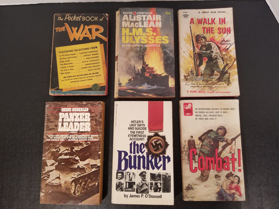 Lot of 6 WW2 Books #2