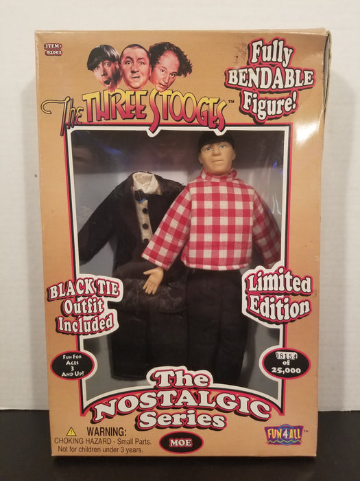 The Three Stooges Limited Edition Bendable Figures