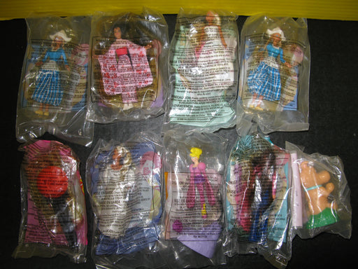 9 Barbie McDonald's Toys