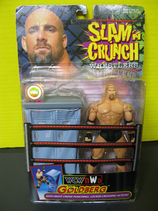 Slam N Crunch Wrestlers - WCW/nW0 Goldberg Action Figure