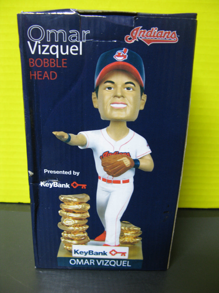 Omar Vizquel Bobble-head - Indians