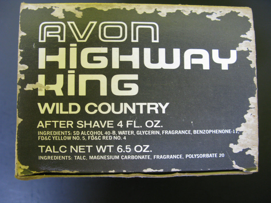 Vintage Avon Highway King - Wild Country After Shave and Talc