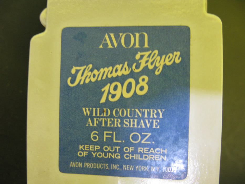 Vintage Avon Thomas Flyer 1908 - Wild Country After Shave