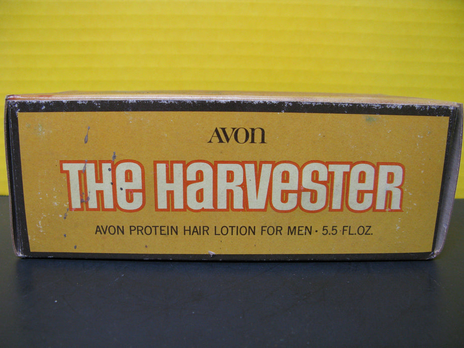 Vintage Avon The Harvester - Avon Protein Hair Lotion For Men