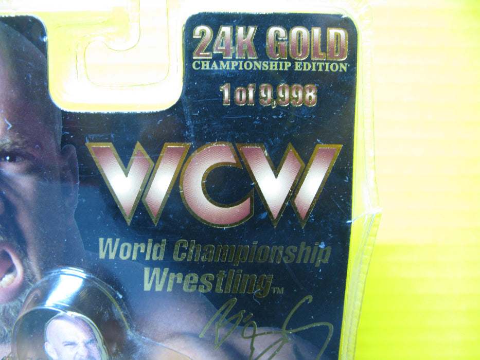 Racing Champions 24k Gold WCW Championship Wrestling Goldberg Car