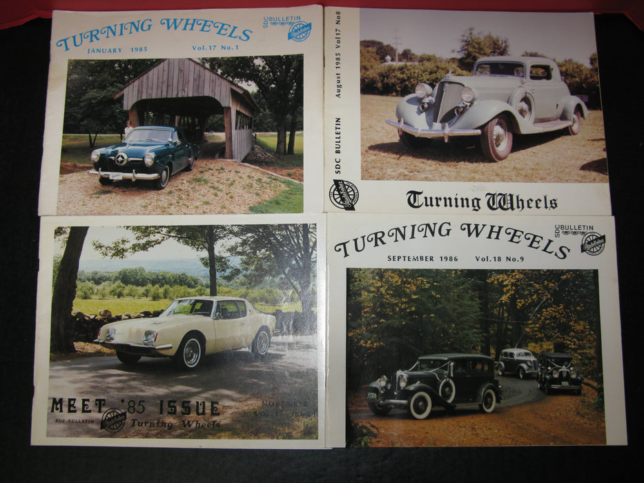 9 Studebaker Issues (1985,1986)