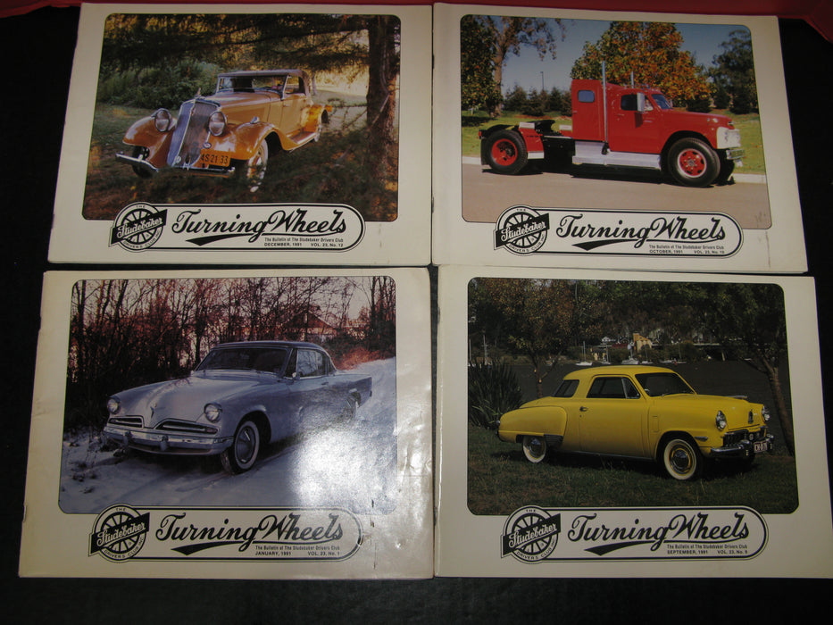 8 Studebaker Issues (1990,1991)