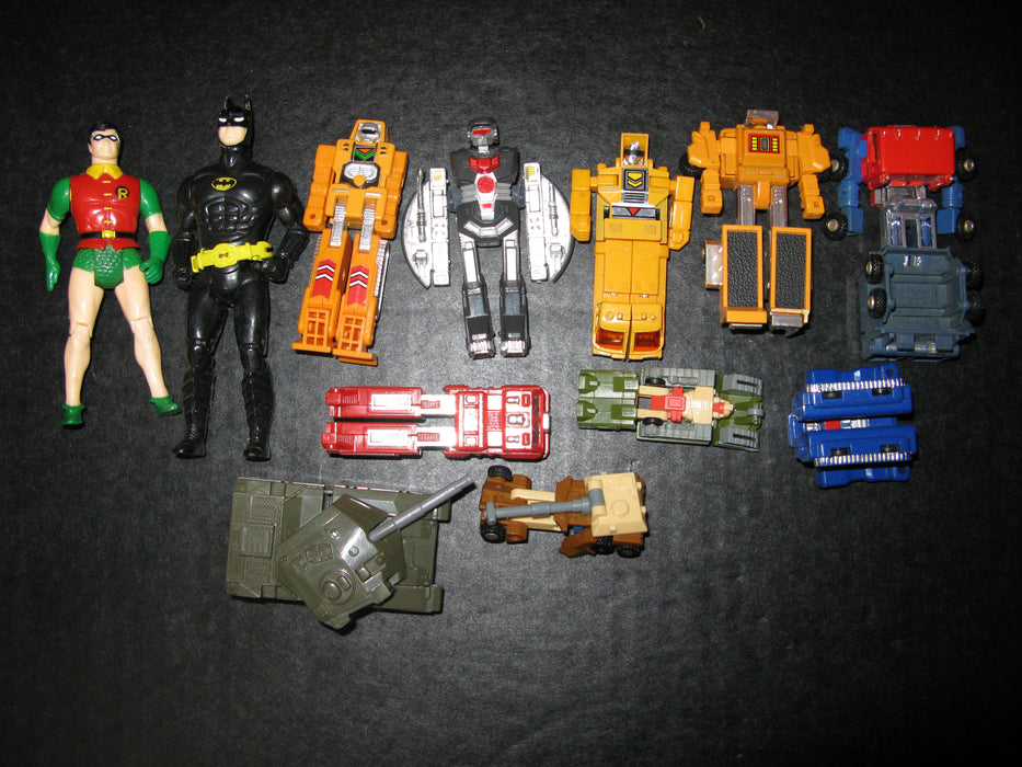 Transformers and Action Figures