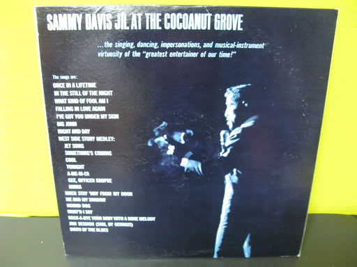 Sammy Davis Jr. At the Cocoanut Grove Vinyl Record