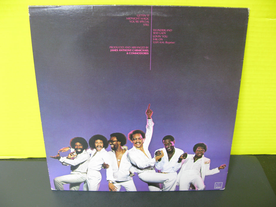 Commodores Vinyl Record