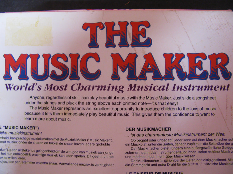 The Music Maker Instrument