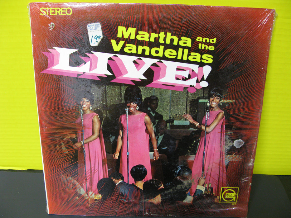 Martha and the Vandellas Live!