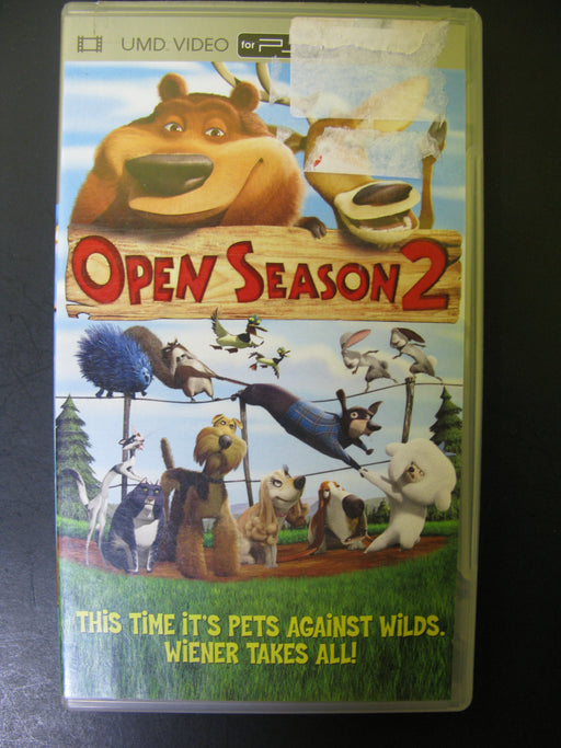 UMD Video Open Season 2 for PSP