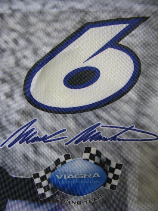 Mark Martin Racing Team Flag