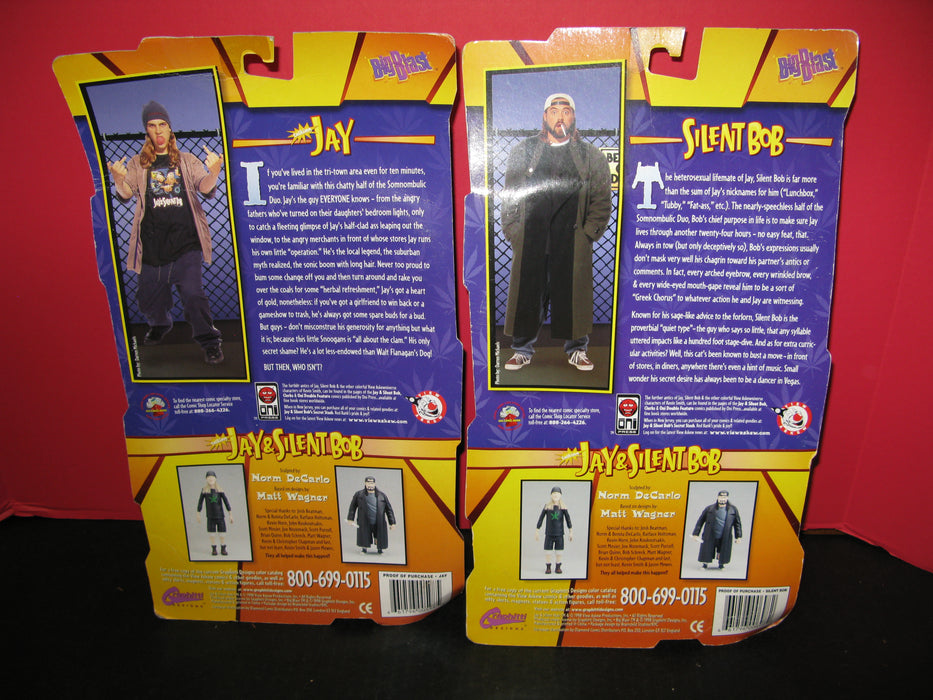 Jay and Silent Bob Figures