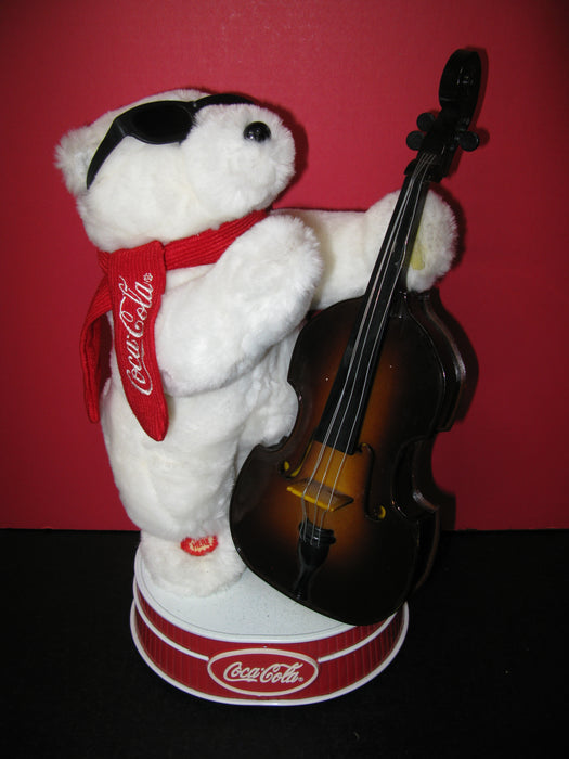 Coca Cola Polar Bear Playing Music