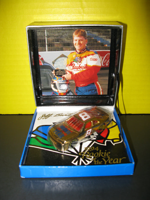 White Rose Collectibles - Super Stars Awards - 1994 Rookie of the Year - Jeff Burton