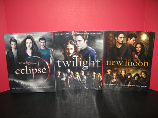 3 Twilight Books