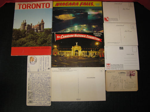 Toronto Magazine/Postcards/Toronto and Niagara Falls Booklet