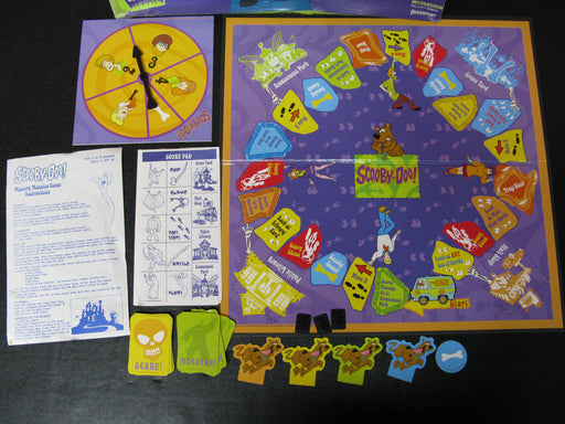 1999 Scooby-Doo! Mystery Mansion Board Game