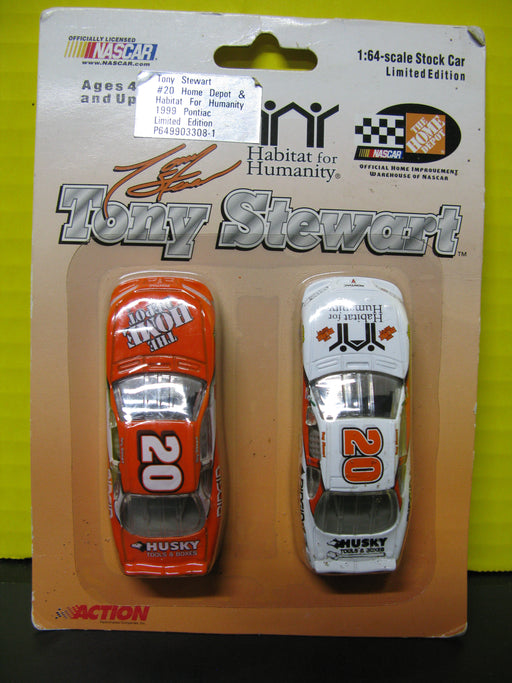 Tony Stewart #20 Home Depot and Habitat for Humanity 1999 Pontiac Cars