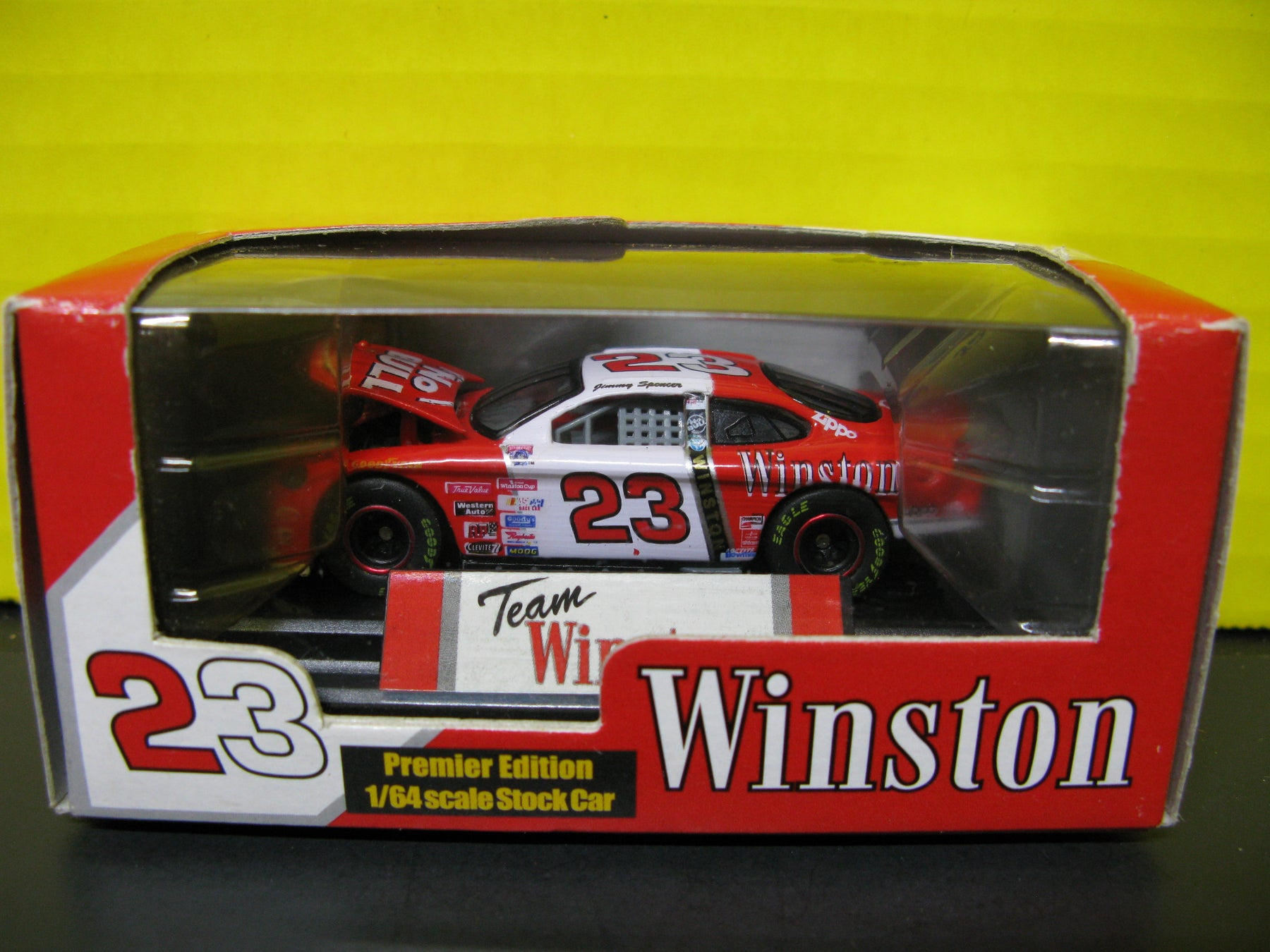 Winston 23 Premier Edition 1/64 scale Stock Car - Jimmy Spencer