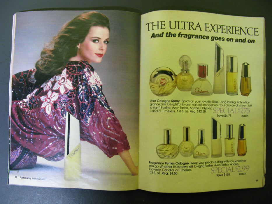 Avon Magazine Booklets 1983