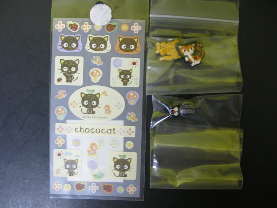 Lot of Cat Lovers Stickers and More