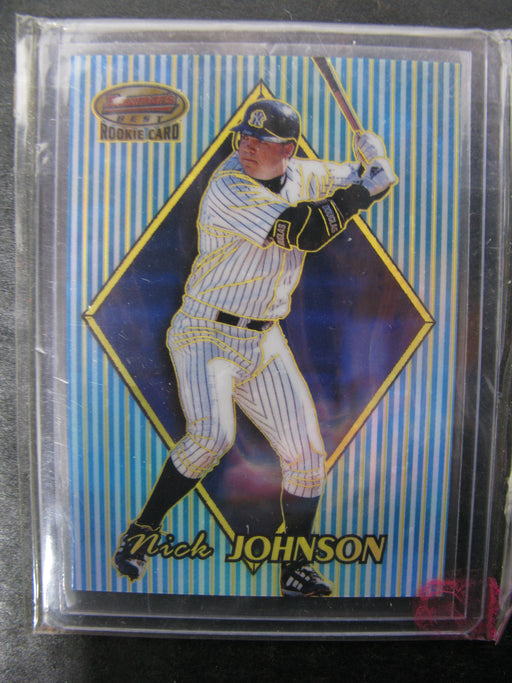 1999 Nick Johnson New York Yankees #168 Rookie Card