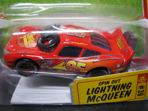 Cars-Spin Out Lightning McQueen #36